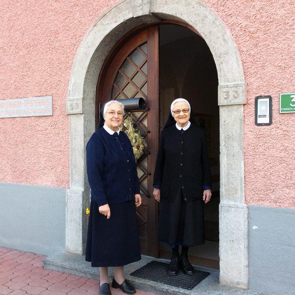 Die Schwestern heißen jeden Gast im Marienheim herzlich willkommen