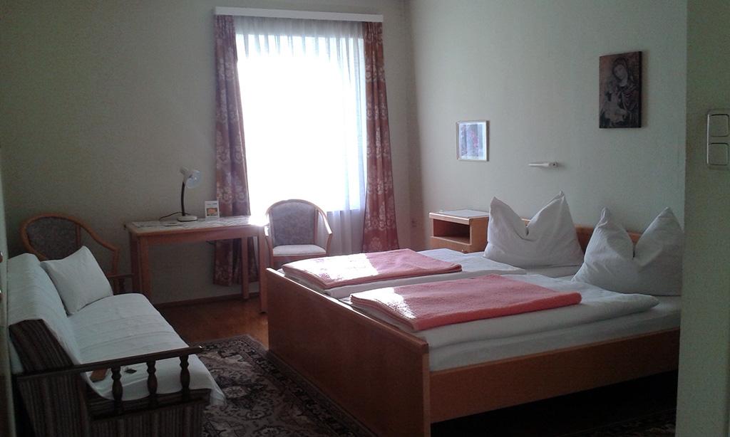 Ein Zweibettzimmer (Marienheim)