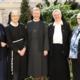 Die Initiatorinnen und Kuratoriumsmitglieder: Sr. Sonja Dolesch, Sr. Petronilla Herl, Sr. Gabriele Schachinger, Sr. Franziska Bruckner, Sr. Angelika Garstenauer (vlnr